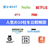 【VOD比較】人気10社の料金や機能など気になる5項目を徹底リサーチ!